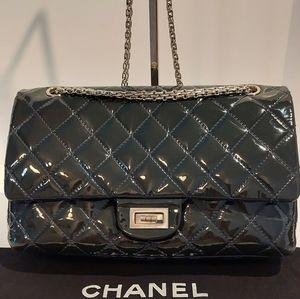 Chanel Reissue 277 Flap Blue Dark Navy Bag